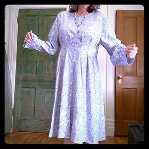 Misslook bluish gray satin silk dress new size 18